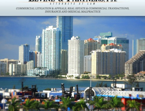 Welcome to Levine & Partners Law Firm in Miami!